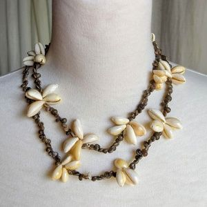 Cowrie Shell Necklace Hawaii | Vintage